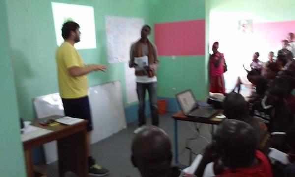 Georges Malaika Foundation Training DRC February 2016