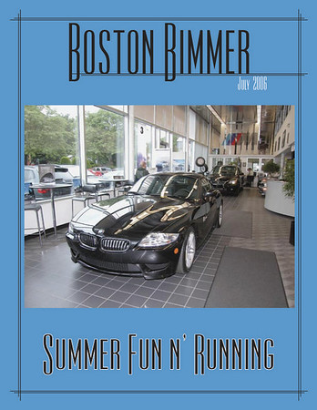 Boston Chapter newsletter, July 2006