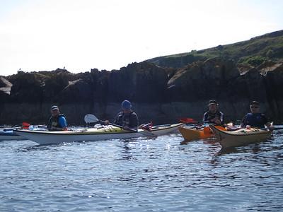 Arran Sea Kayak Trip 05/06/2010