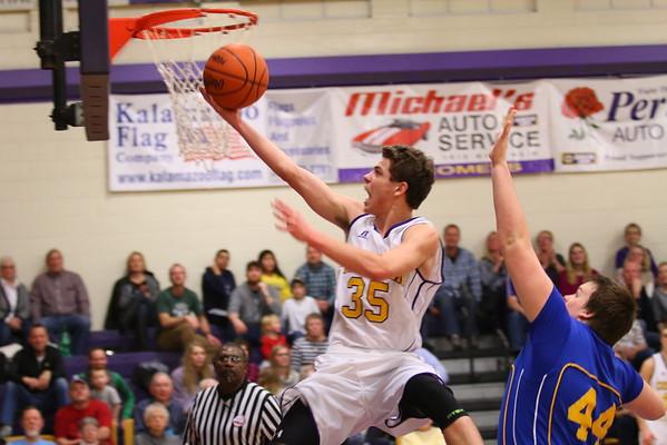 Basketball  Boys vs. Lawton - 1/29/16 - KCHS
