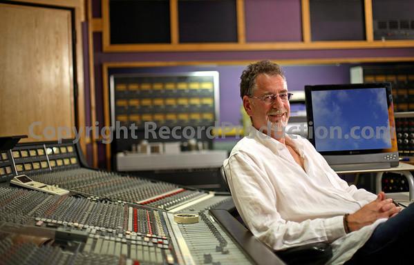 Mick Glossop record producer - in his new private recording studio gallery