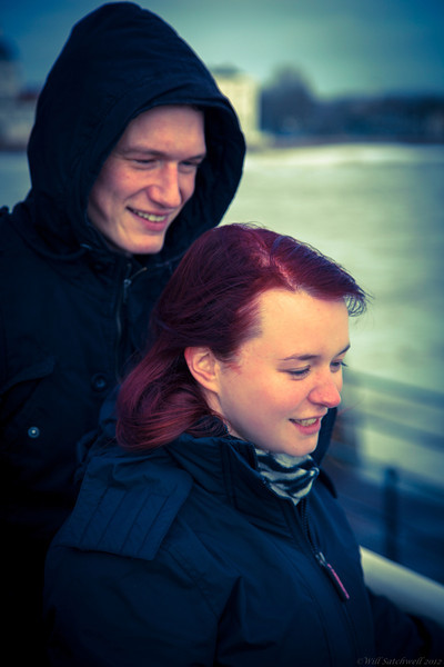 Fi & Bobby -  Initial Engagement Shots