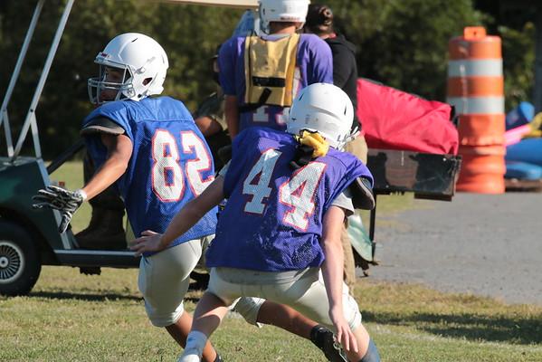 Junior Prep Football's Practice Scrimmage - Sept 21