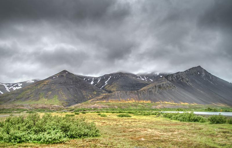 Icelandic Pyramids     Photography by Wayne Heim