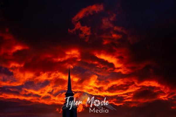 5.5.20 LDS Church Sunset