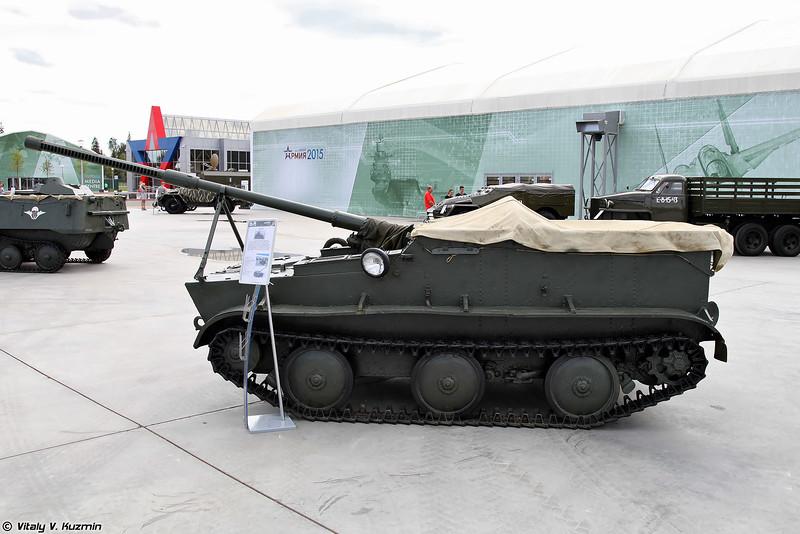 Авиадесантная самоходная артиллерийская установка К-73 (K-73 self-propelled gun)