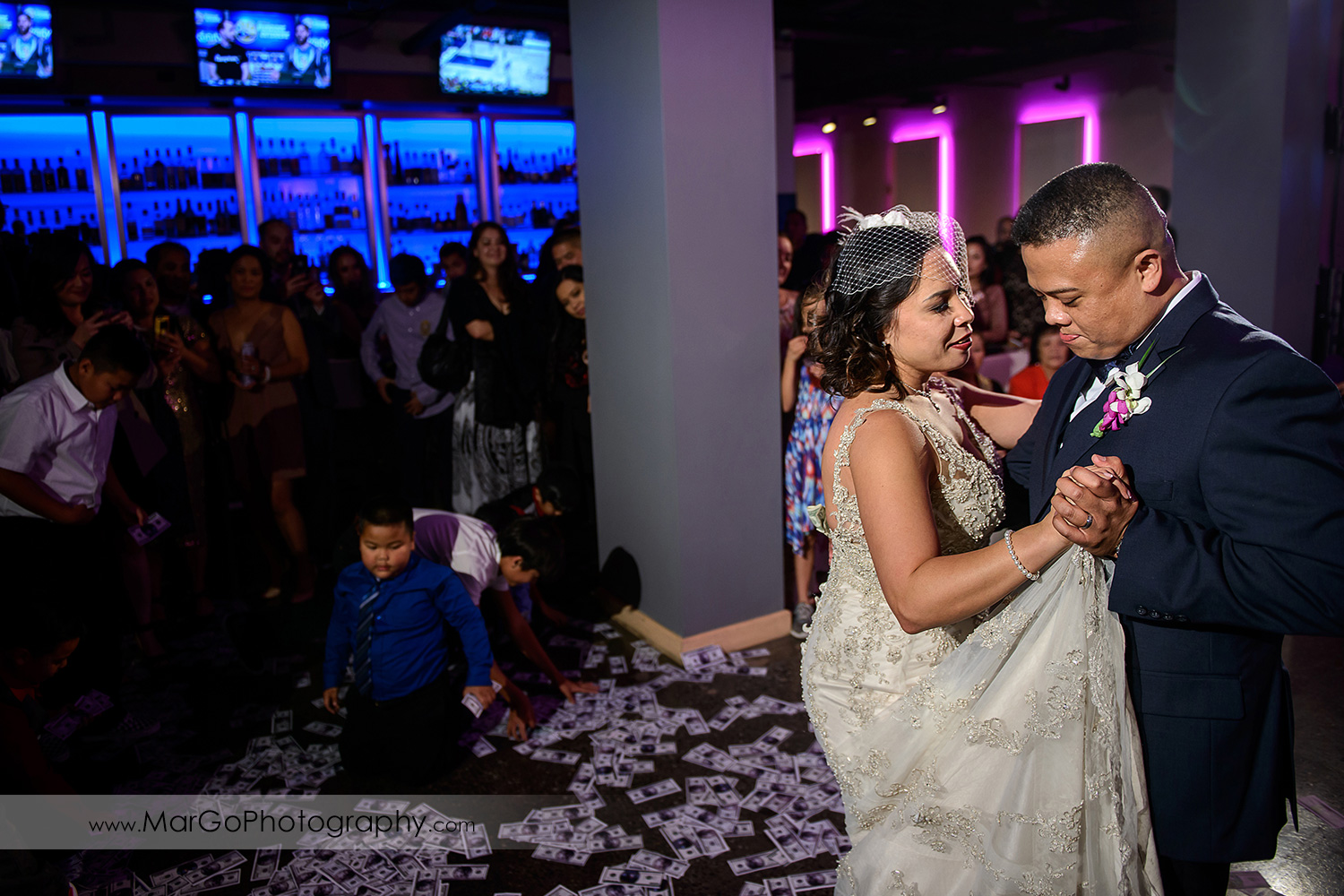 first dance at Aloft in Cupertino
