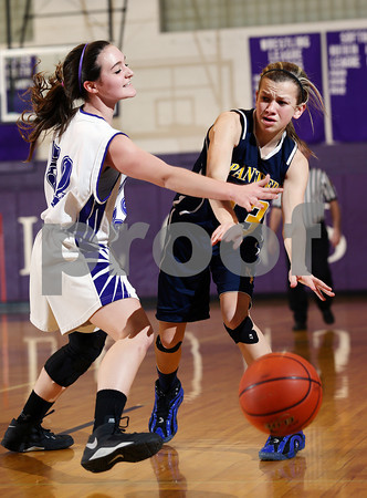 2014 Northern Potter Girls JV Basketball @ Coudersport
