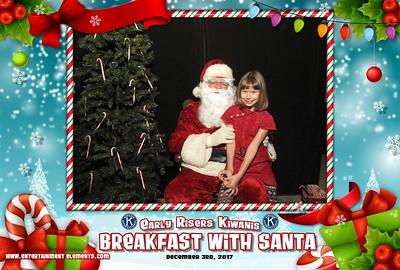Breakfast With Santa, 2017