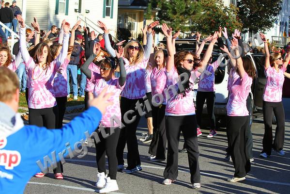 2010 10 16 CMU Homecoming Parade Orchesis Dance Team