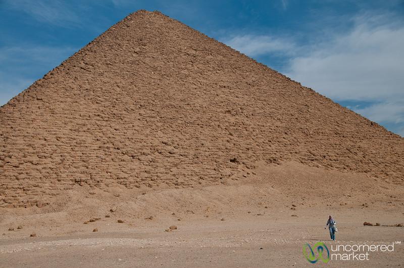 Red Pyramid - Daschur, Egypt