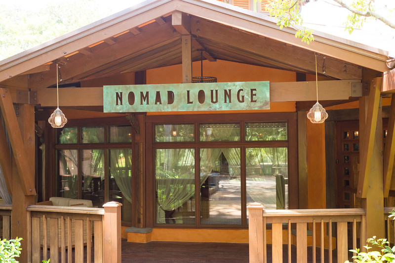 Nomad Lounge Entrance - Animal Kingdom Walt Disney World