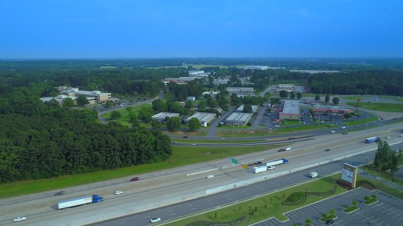 Aerial video Little Rock Arkansas