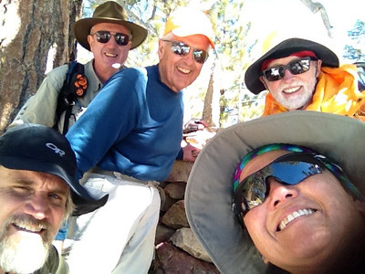 2013 (Mar 12) Mt Pinos (x3), Sawmill Mtn (x2) and Grouse Mtn (x2) with HPS