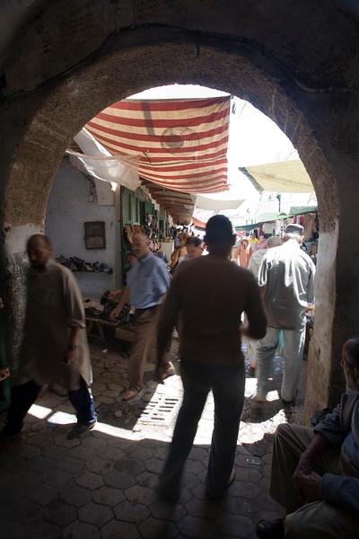 Archway in the medina, Tetouan, Morocco