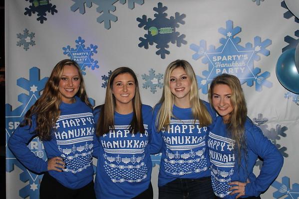 Sparty's Hanukkah Party 2016