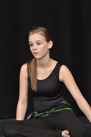 Dance Company Rehearsal (costumes) 4-26-12