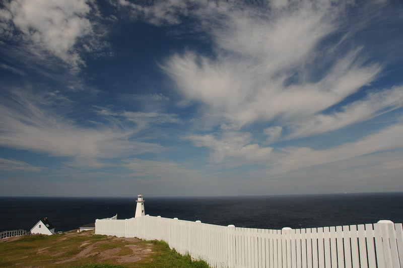 This Coast Guard Automated lighthouse has been operating since 1955 but is not open to the public for viewing.  The number of icebergs sailing past St. John's are a far cry from the number we were accustomed to seeing in L'Anse aux Meadows, Twillingate, and Bonavista.