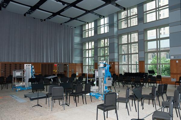 Lenfest Hall, July 2011
