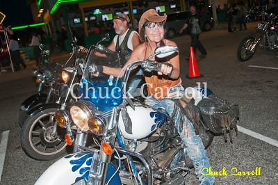 Quaker Steak - Clearwater, Florida----  Bike Night  --May 5, 2012
