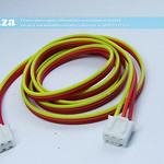 SKU: AE-CABLE-POWER/PCB/3, Generic PCB 3PIN Power/Data Cable with Female Connectors, ~0.7m, for TruCUT Lite Laser Power Supply to Keypad (Red/Yellow)