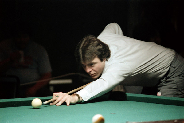 1984-1985 Clyde Childress Memorial Pool Tournaments - photos by Bill Porter