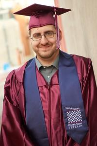 2015 UWL Donleigh Gaunky Veteran Graduate