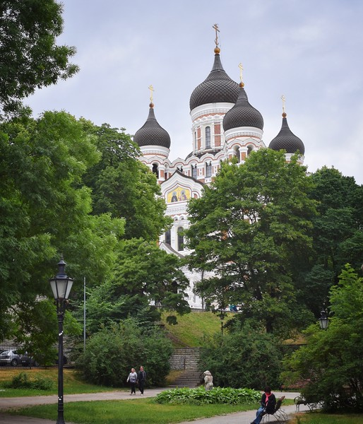 Talinn, Estonia: St. Alexander Nevsky Cathedral (1900)