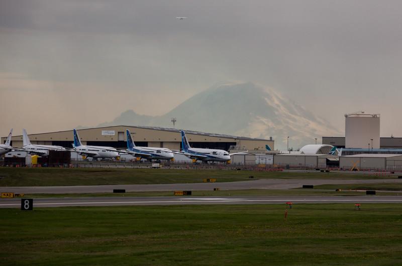 Boeing Factory in Everett, Washington