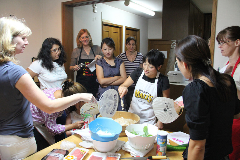 Japanese Cooking Class September 22, 2011