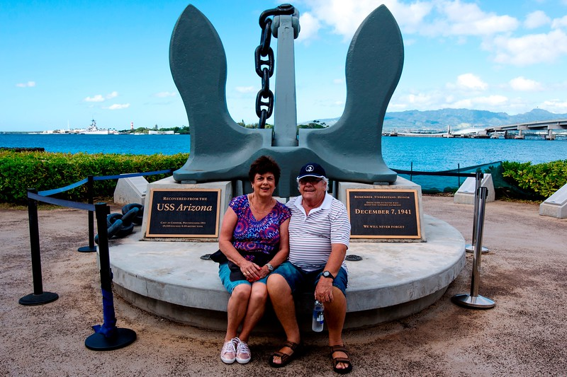 USS Arizona Anchor