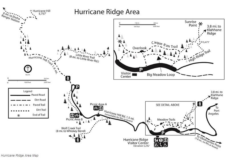 Olympic National Park (Hurricane Ridge Area)