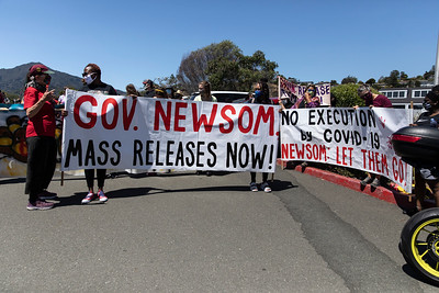 Aug 02  Protest against the Handling of Covid at San Quentin
