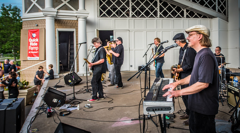 The Belfast Cowboys--Lake Harriet Bandshell, 2015