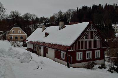 Krkonoše - Křížlice - zima 2013
