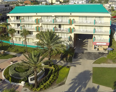 Aerials of Magnuson Hotel Clearwater Beach