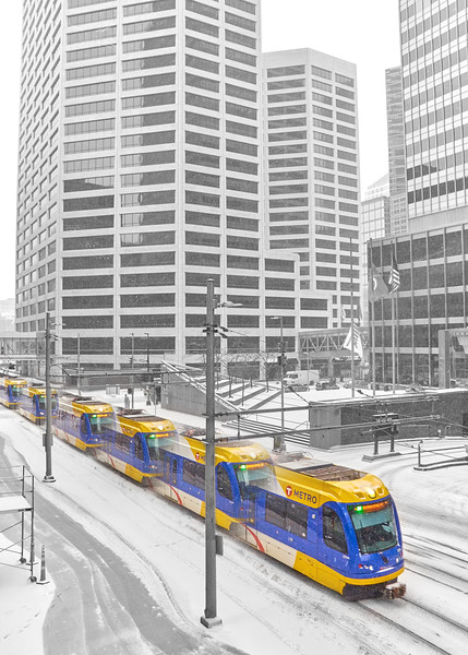Winter Train, Minneapolis