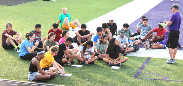 First day of practice for Center High Rider soccer and cross country