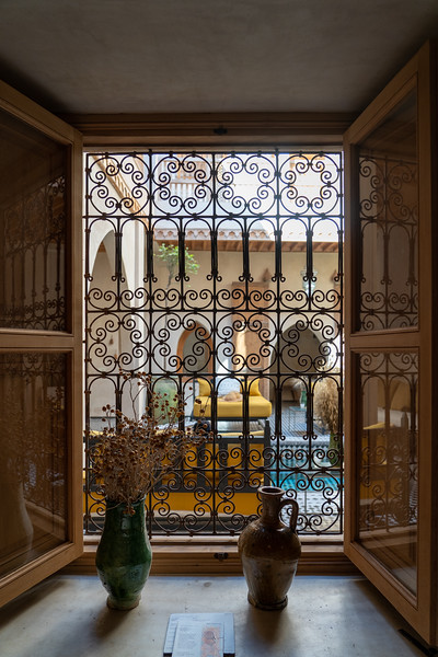 Window at Riad BE Marrakech
