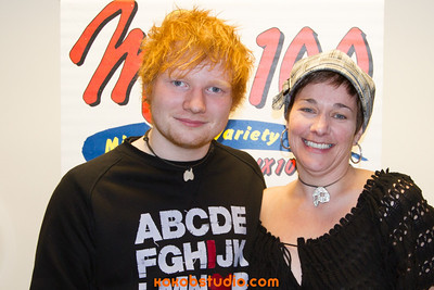 2012-12-17 - Mix100 - Ed Sheeran - Meet n Greet
