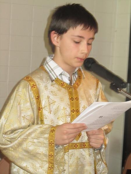 Community Life - Presanctified Liturgy - March 14, 2012