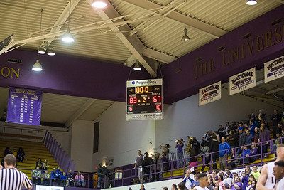 UNA Basketball vs UAH 02/27/15