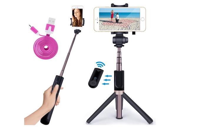 novasat selfie stick