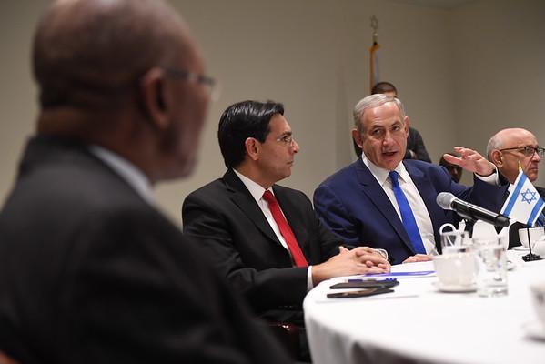 2016 PM Benjamin Netanyahu visit to NY - PRIVET