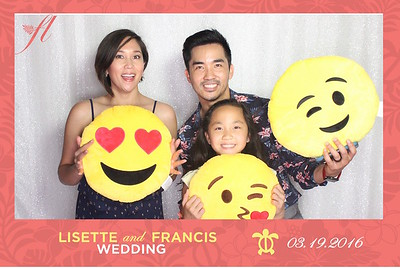 Francis & Lisette's Wedding (LED Open Air Photo Booth)