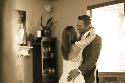 Amanda + Jon Zoom Wedding