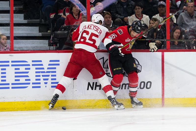 NHL 2017: Red Wings vs Senators APR 04