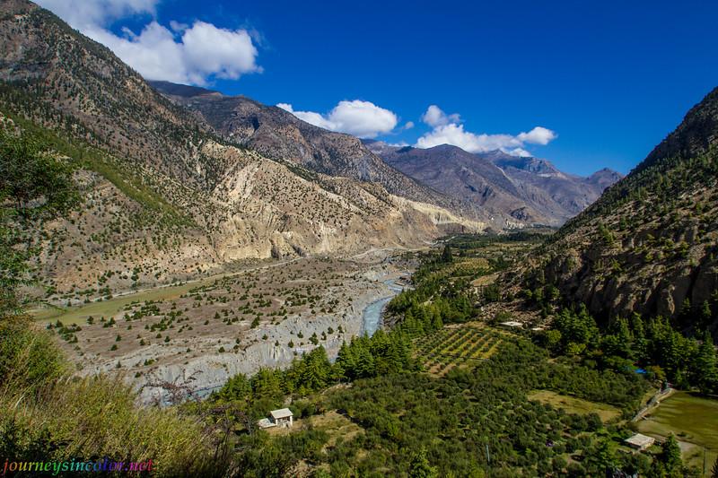 Kali Gandaki Gorge, Nepal