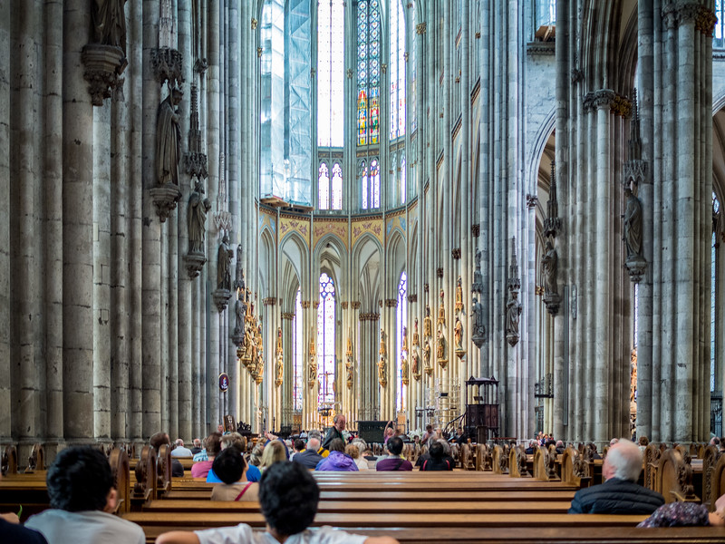 Cologne Dome inside