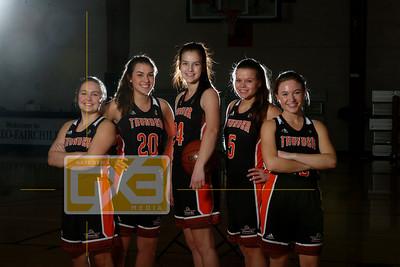 Osseo-Fairchild girls' basketball seniors GBB1819